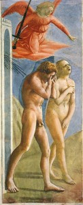 Masaccio expulsion from Eden