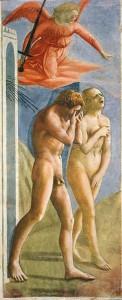 Masaccio expulsion from Eden