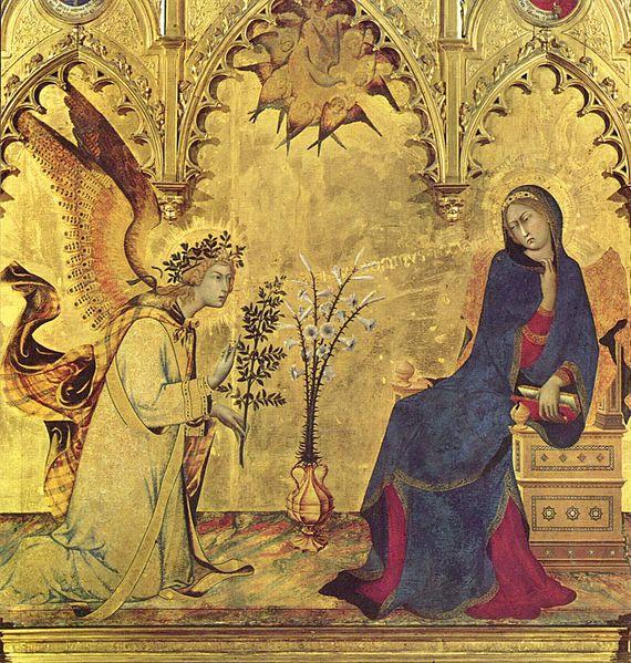 Annunciation Simone_Martini