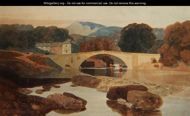 Cotman Greta Bridge Yorkshire 1810 John Sell Cotman. 1782   1842. The Greta Bridge. 1807.