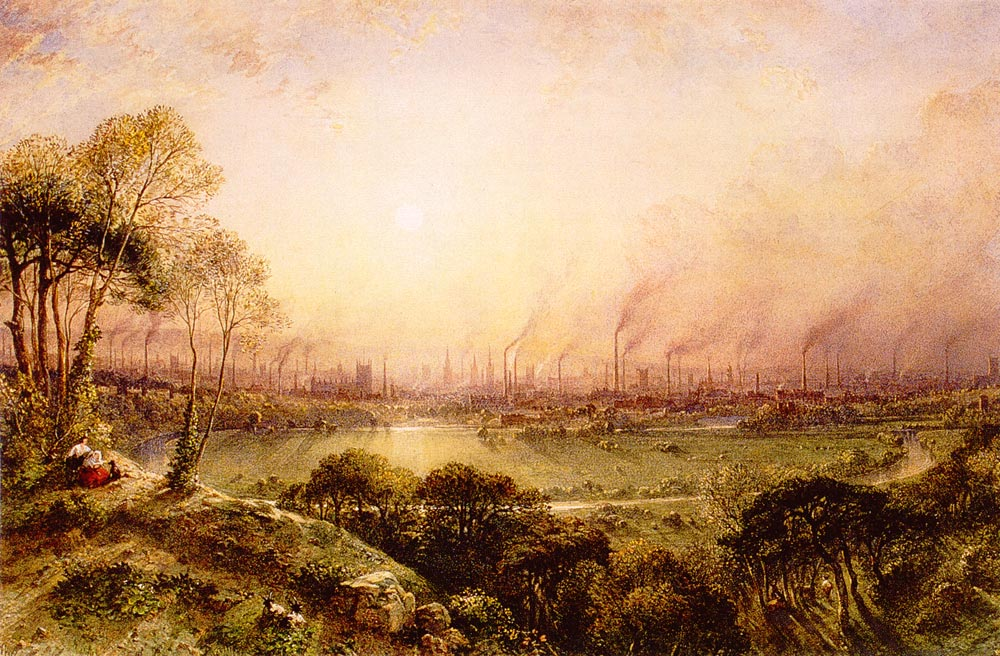 Manchester_from_Kersal_Moor_William_Wylde_(1857)