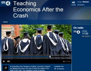 Teaching economics after the crash