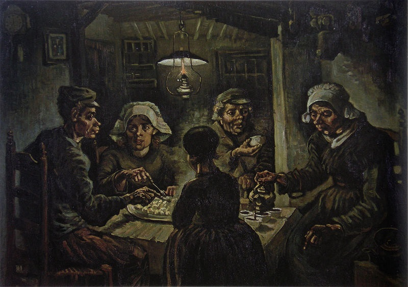 original potato eaters