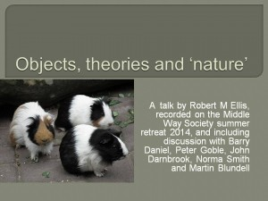 Objects, theories and 'nature'