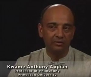 Kwame Anthony Appiah from video